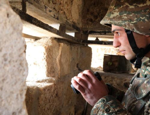 ՀՀ զինված ուժերի և ԱԱԾ ստորաբաժանումները վերահսկում են սահմանային իրավիճակը սահմանագոտու ամբողջ երկայնքով