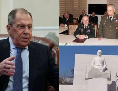 Ադրբեջանցի վետերանները Լավրովին կդիմավորեն Նժդեհի արձանի ապամոնտաժման խնդրանքով