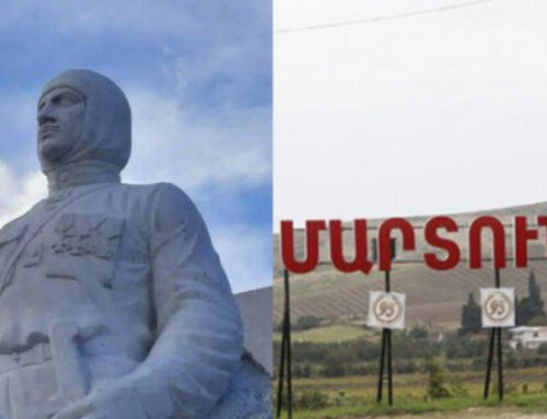 Փաշինյանը Լավրովին հավաստիացրել է, որ Մարտունիում Նժդեհի արձանը կհանվի