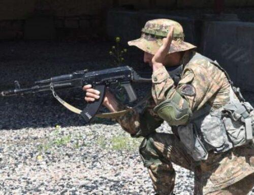5-րդ զորամիավորումում անցկացվել են ուսումնական պարապմունքներ