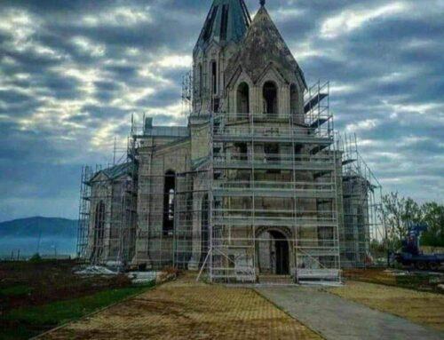 Ադրբեջանցիները Շուշիում լայնածավալ շինարարություն են սկսել. ոչնչացնում են հայկական հոգևոր, մշակութային և ճարտարապետական ժառանգությունը. (Լուսանկարներ)
