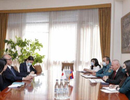 Ճապոնիայի կառավարությունը պատրաստակամ է աջակցել Հայաստանի զարգացմանը
