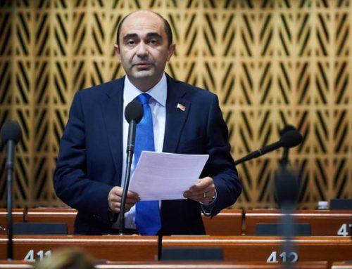 Մարուքյանի՝ որպես ՀՀ 7-րդ գումարման Ազգային ժողովի պատգամավոր, վերջին ելույթը Եվրոպայի խորհրդի խորհրդարանական վեհաժողովում