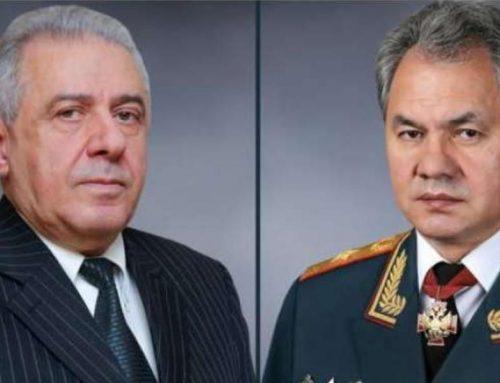 Սերգեյ Շոյգուն շնորհավորել է Վաղարշակ Հարությունյանին ընտրությունների կապակցությամբ
