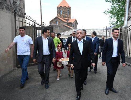 Սերժ Սարգսյանը Գեղարքունիքում հանդիպումներ է ունեցել բնակիչների հետ, լսել՝ հուզող հարցերը
