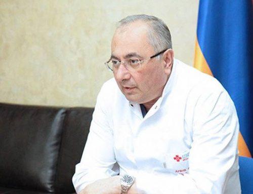 Բժիշկ Արմեն Չարչյանին սրտային տագնապով տեղափոխել են հիվանդանոց