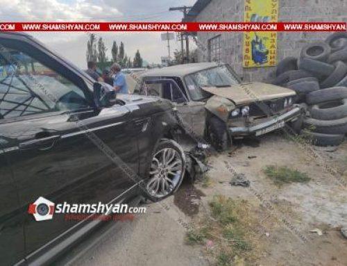 Կոտայքի մարզում բախվել են Range Rover-ն ու ВАЗ 2106-ը. կան վիրավորներ