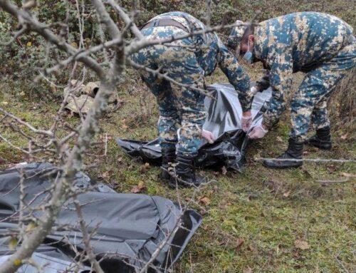 Մարտունու շրջանի Ադրբեջանի կողմից բռնազավթված տարածքներից ևս 3 աճյուն է հայտնաբերվել
