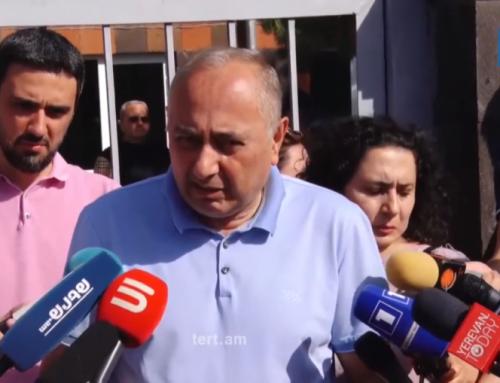«Հայաստան» դաշինքն այսօր բողոքի ակցիա է անելու դատախազության դիմաց. Արմեն Չարչյանի կալանավորումը համարում են քաղաքական հետապնդում
