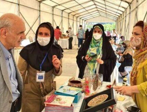 Իրանում ՀՀ դեսպանն այցելել է ձեռքի աշխատանքների ցուցահանդես