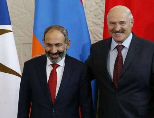 Լուկաշենկոն շնորհավորել է Փաշինյանին