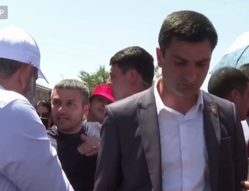 Նիկոլ Փաշինյանի հետ մարզեր տարվող «մասովկան» բացահայտվեց տեսախցիկների առջև
