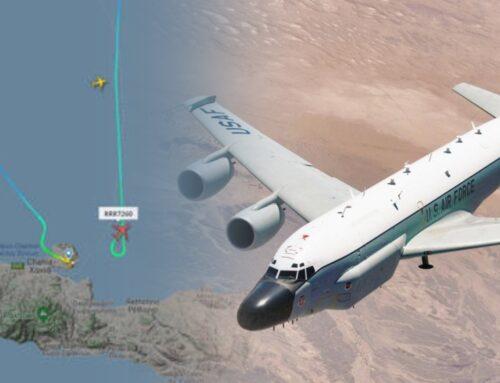 ՆԱՏՕ-ի հետախուզական օդանավը նկատել են Պուտինի օդանավերի մոտ