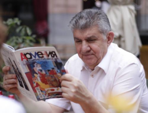 Հարցազրույց Ռուսաստանի հայերի միության նախագահ, Համաշխարհային հայկական կոնգրեսի նախագահ, ՅՈՒՆԵՍԿՕ-ի բարի կամքի դեսպան Արա Աբրամյանի հետ