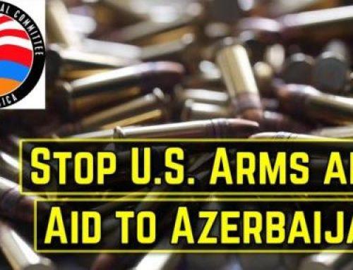 Անհապաղ դադարեցնել ԱՄՆ-ի ռազմական աջակցությունն Ադրբեջանին. ԱՄՆ Հայ դատի հանձնախմբի կոչը