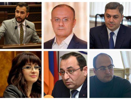 Ճամբարափոխը, նախկին լրագրողը,  ԱԱԾ և ՊՆ նախկին ղեկավարները․ ովքեր են ԱԺ խմբակցությունների ղեկավար կազմում