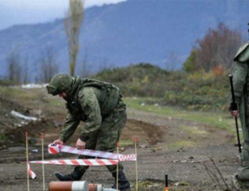 Ռուսաստանի խաղաղապահ զորախումբը շարունակում է Լեռնային Ղարաբաղի տարածքում խնդիրների կատարումը
