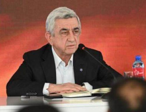 Երրորդ նախագահ Սերժ Սարգսյանը վարել է ՀՀԿ Գործադիր մարմնի հերթական նիստը