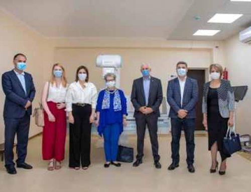 ԵՄ-ն և ԱՀԿ-ն ժամանակակից ռենտգեն սարքավորում է տրամադրում Մարտունու բժշկական կենտրոնին