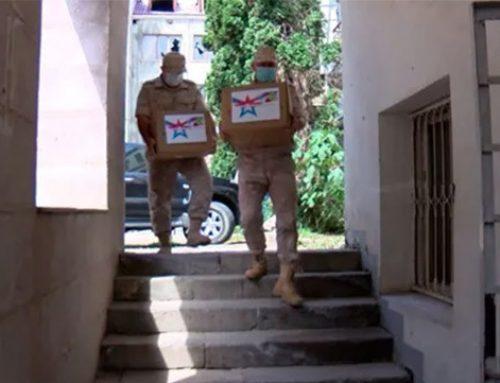 Ռուս խաղաղապահները Լեռնային Ղարաբաղում առաջին անգամ մարդասիրական օգնություն են ցուցաբերել հաշմանդամություն ունեցող անձանց