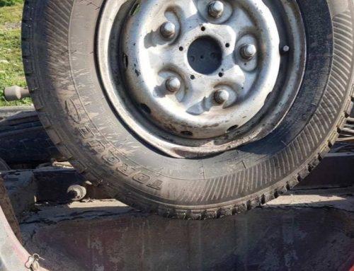 Բերդ քաղաքի «Չաթախ» կոչվող հանդամասում ավտոմեքենան ընկել է ձորը