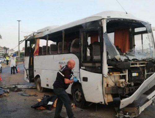 Թուրքիայում վթարի է ենթարկվել ռուս տուրիստներ տեղափոխող ավտոբուս. կան զոհեր և վիրավորներ
