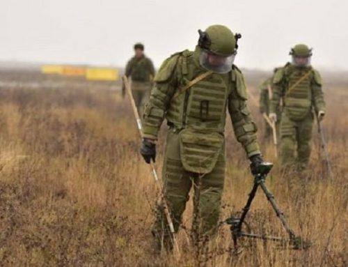Արցախի Մարտունիի շրջանում վերջին մեկ օրում չպայթած զինամթերքից մաքրվել է 2 հա տարածք. ՌԴ ՊՆ