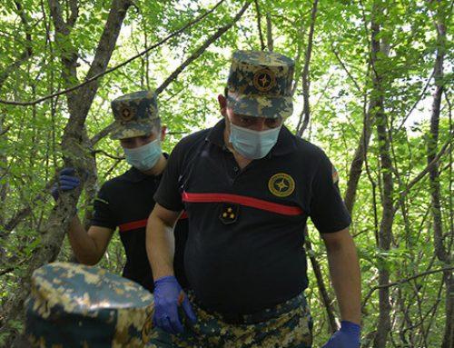 Վարանդայի (Ֆիզուլի) շրջանում հայտնաբերվել է չորս զինծառայողի աճյուն