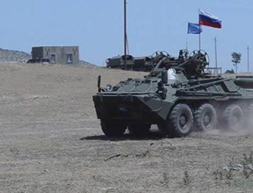 Ռուս խաղաղապահները ժամանակակից մարտի վարման պարապմունքներ են անցկացրել Արցախում