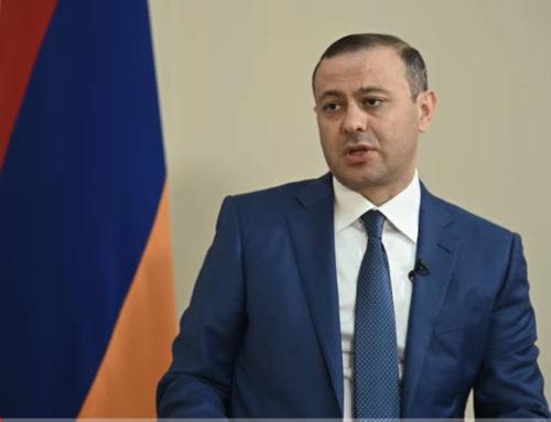 Հայ-թուրքական միակ օրակարգը հարաբերությունների կարգավորումն է. Արմեն Գրիգորյան