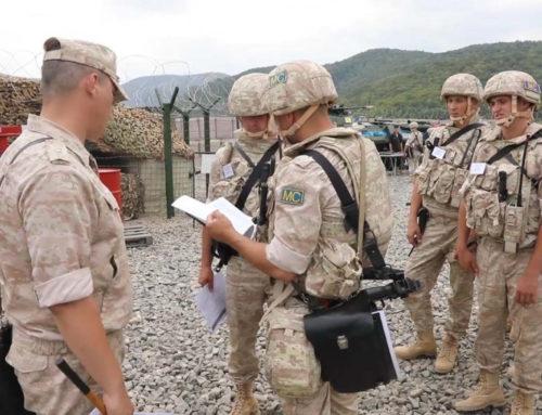 Ռուս խաղաղապահներն անվտանգության համապարփակ վարժանք են անցկացրել Արցախի 27 դիտակետերում