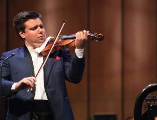 Մանսուրյանի, Բորոդինի, Չայկովսկու երկերի կատարմամբ Երևանում հանդես կգա hայտնի ջութակահար Սերգեյ Դոգադինը