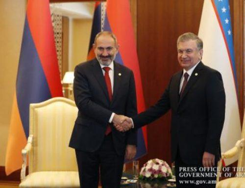 Ուզբեկստանի նախագահը Անկախության օրվա առթիվ շնորհավորական ուղերձ է Նիկոլ Փաշինյանին հղել
