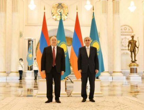 Համատեղ ուժերով կարող ենք նոր լիցք տալ հայ-ղազախական գործակցությանը․ Տոկաևը՝ Սարգսյանին