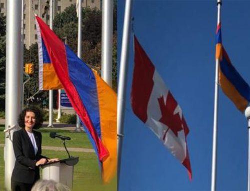Հայաստանի դրոշը բարձրացվել է Օտտավայում