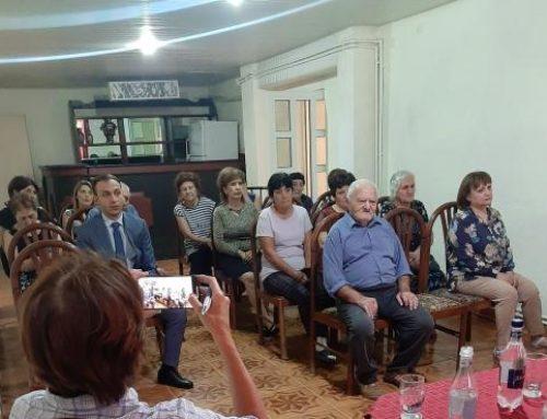 Արցախի ՄԻՊ-ը հանդիպել է L'Œuvre d'Orient կազմակերպության ներկայացուցիչների հետ