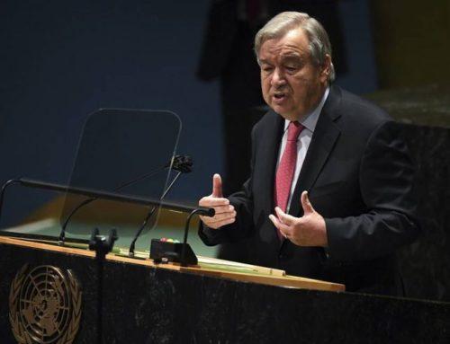 Աշխարհն այսօր, առավել քան երբևէ սպառնալիքի տակ է գտնվում. ՄԱԿ-ի գլխավոր քարտուղար