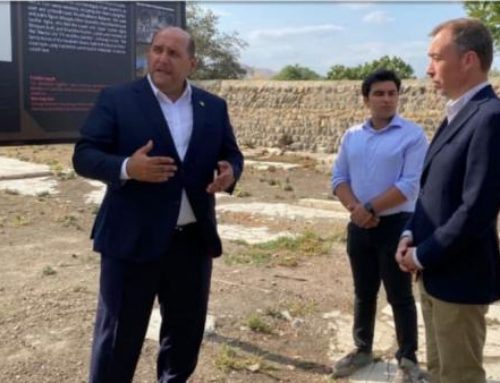 Հվ․ Կովկասում ԵՄ հատուկ ներկայացուցիչը Հայաստանից հետո Ադրբեջանով այցելել է Ակնա