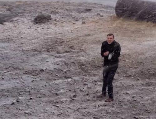 Առաջին ձյունը դիմավորեցինք Արագածում․ Գագիկ Սուրենյան