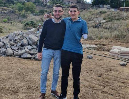 Պատերազում 2 ձեռքը կորցրած Կարեն Խլոպուզյանի առանձնատան շինարարությունը մեկնարկել է