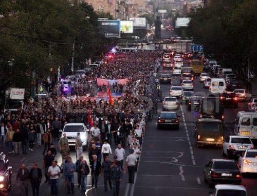 ԱԱԾ-ն ու Ոստիկանությունը թվեր են հրապարակել․ քանի մարդ է մասնակցել «Հայաստան» դաշինքի երթին