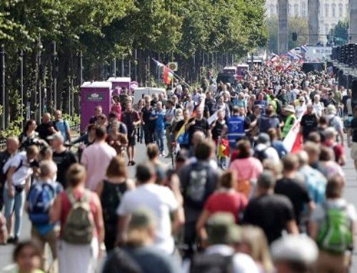 Բեռլինում ընտրություններին ընդառաջ բազմահազարանոց բողոքի ցույցեր են անցկացվում