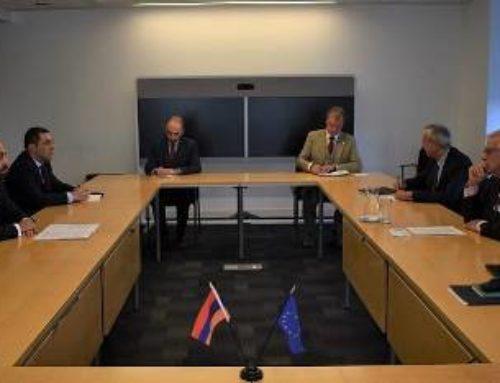 Արարատ Միրզոյանը հանդիպել է ԵՄ Արտաքին գործերի և անվտանգության քաղաքականության Բարձր ներկայացուցիչ Ժոզեպ Բոռելի հետ