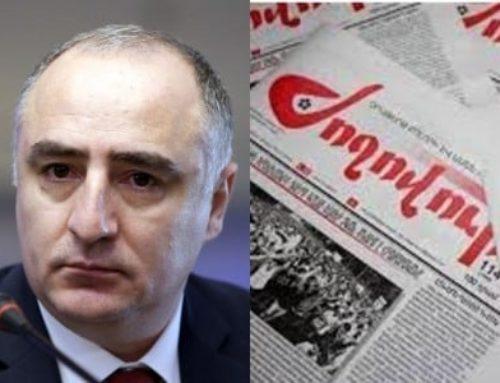 Սասուն Խաչատրյանը դատական հայց է ներկայացրել «Ժողովուրդ» օրաթերթի դեմ