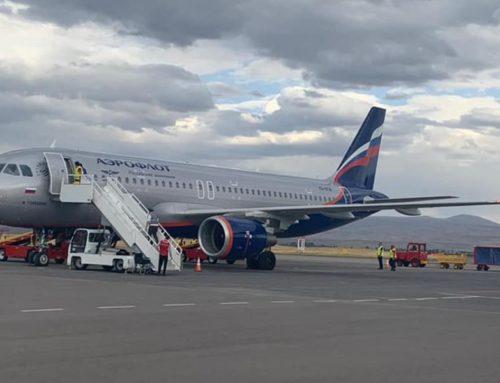 Aeroflot-ը սկսում է չվերթները Գյումրիից