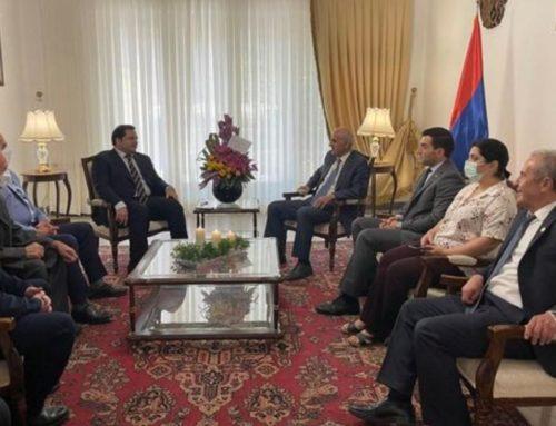 Իրան-Հայաստան առևտրի պալատի խորհրդի նախագահն այցելել է ՀՀ դեսպանություն