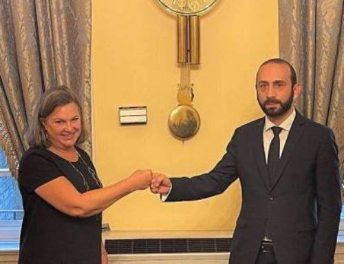 ԱԳ նախարար Արարատ Միրզոյանի հանդիպել է ԱՄՆ պետքարտուղարի քաղաքական հարցերով տեղակալ Վիկտորիա Նուլանդի հետ