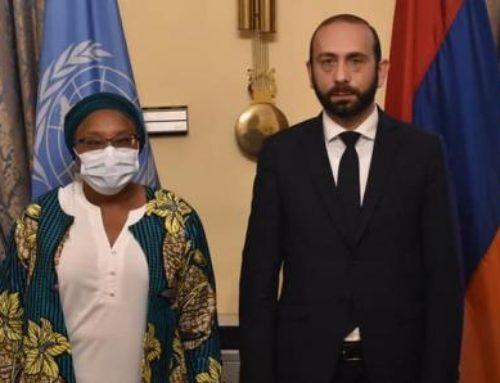 Միրզոյանը հանդիպել է Ցեղասպանության կանխարգելման հարցերով ՄԱԿ քարտուղարի խորհրդականի հետ
