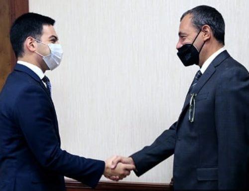 Ռուստամ Բադասյանն Իտալիայի դեսպանի հետ քննարկել է հարկային, մաքսային վարչարարության ոլորտում գործակցության հեռանկարները