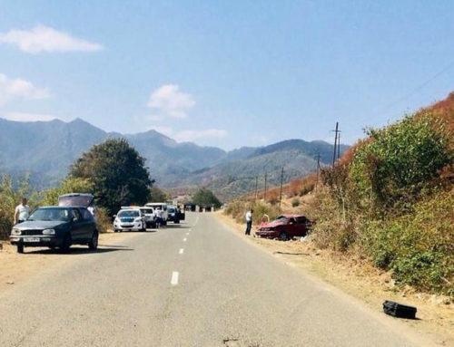 Ստեփանակերտ-Վանք ճանապարհին բախվել է երկու մեքենա․ կա 1 զոհ, 4 վիրավոր